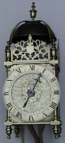 very rare pre-Civil War lantern clock of the 1630s-40s possibly from the workshop of Ahasuerus Fromanteel 1
