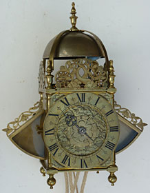 Charles II period lantern clock made by Richard Ames of London