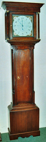 Richard Blakeborough of Pateley Bridge c.1800 thirty-hour clock