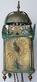 Mid-eighteenth-century French lantern clock