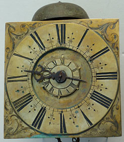very early hook-and-spike alarm clock, late seventeenth century