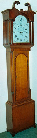 Thomas Lister of Lancaster c.1790 thirty-hour clock