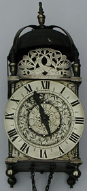 Fine lantern clock, unsigned, but of the London (Lothbury) type, c.1650