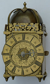 rare miniature timepiece alarm by Jonathan Lowndes of  London