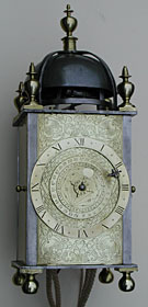 early anonymous English lantern clock c.1600-c.1610