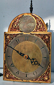 Lantern clock made for the Turkish Market about 1770 by George Prior of London