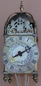 Anonymous (London) lantern clock c.1650
